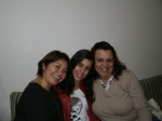 Rosa, Laura e Elaine